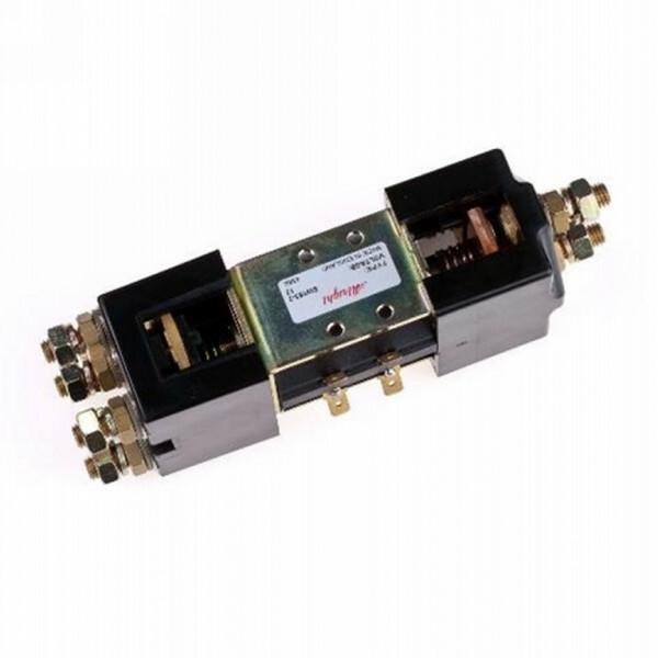 Relais 12/24V-100A-600A serie/parallel met beugel