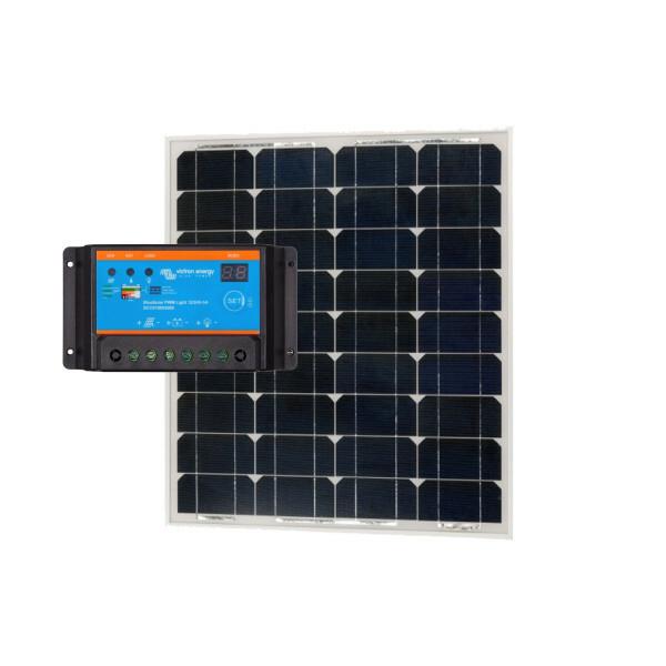 Solar pakket 60 Wp PWM 12 5 + 60 Wp paneel