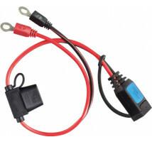 Victron DC-stekker met M8 oog voor IP65 acculader