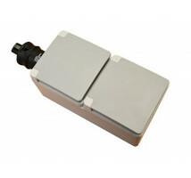Ratio schuko outlet 2-weg IP44