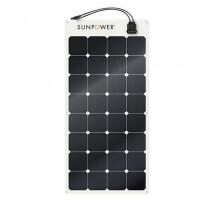 Sunpower flexpaneel SPR-E-Flex 110Wp JB (1165x556x2mm)